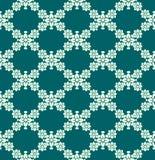 Безшовная флористическая картина цвета Стоковые Фото