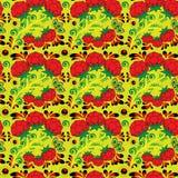 Безшовная флористическая картина 2 Стоковая Фотография RF