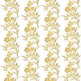 Безшовная флористическая картина tiling Стоковые Фотографии RF