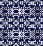 Безшовная флористическая орнаментальная предпосылка вектора Стоковое Фото
