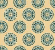 Безшовная флористическая орнаментальная предпосылка вектора Стоковое фото RF