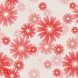 Безшовная флористическая покрашенная предпосылка. иллюстрация штока