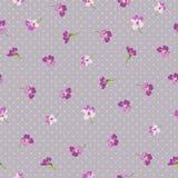Безшовная флористическая скороговорка с маленькими цветками Стоковые Фото