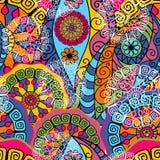 Безшовная цветастая картина Стоковые Изображения