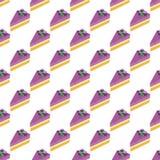 Безшовная часть картины сладостного торта Стоковое фото RF