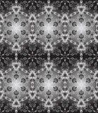 Безшовная черная белизна Стоковое фото RF