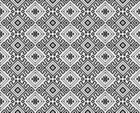 Безшовная черная геометрическая картина Стоковая Фотография RF