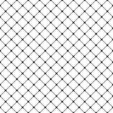 Безшовная черно-белая округленная квадратная предпосылка вида решетки - векторная графика от раскосных квадратов Стоковое фото RF