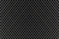 Безшовная черно-белая геометрическая картина плетения Стоковое фото RF