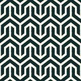 Безшовная черно-белая геометрическая картина Стоковое Изображение