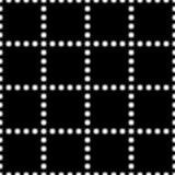 Безшовная черно-белая предпосылка с декоративными снежинками иллюстрация штока