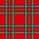Безшовная шотландка предпосылки картины тартана Украшение рождества, шотландский орнамент иллюстрация вектора
