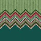 Безшовная этническая геометрическая связанная картина Стоковые Фотографии RF