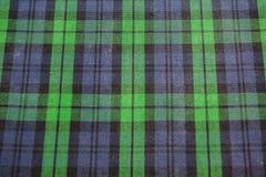 Безшовная яркая ая-зелен шотландка Стоковые Изображения