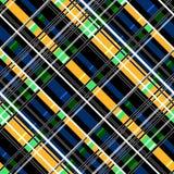 Безшовная checkered картина тартана шотландки бесплатная иллюстрация