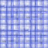 Безшовная checkered предпосылка картины шотландки тартана Голубая, белая картина бесплатная иллюстрация