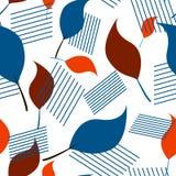 Безшовная minimalistic картина Стоковое Изображение RF