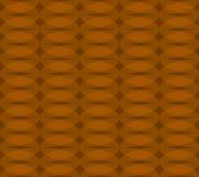 Безшовная monochrome картина с прозрачными перекрывая овалами Стоковые Фото