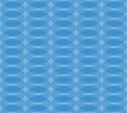 Безшовная monochrome картина с прозрачными перекрывая овалами Стоковая Фотография