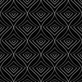 Безшовная monochrome картина 15 Стоковое Изображение