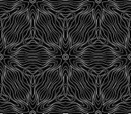 Безшовная monochrome картина 12 Стоковая Фотография