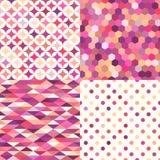 Безшовная multicolor геометрическая картина плиток Стоковые Изображения RF