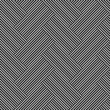Безшовная (repeatable) геометрическая абстрактная monochrome картина до бесплатная иллюстрация