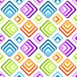 Безшовная striped картина предпосылки диамантов Стоковая Фотография RF