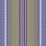 Безшовная striped предпосылка Стоковое Изображение
