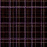 Безшовная striped ткань шотландки дизайна Стоковая Фотография RF