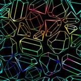 безшовное абстрактной предпосылки геометрическое вектор Стоковая Фотография RF