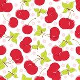 безшовное вишни предпосылки милое бесплатная иллюстрация