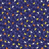 Безшовное геометрическое рождество картины Стоковые Изображения RF