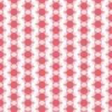 безшовное геометрической картины красное стоковая фотография rf