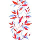 безшовное граници флористическое Стоковые Изображения RF