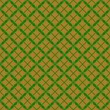 Безшовное золото и зеленый цвет картины Стоковое фото RF