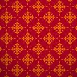 Безшовное золото картины текстуры Стоковое Фото
