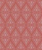 безшовное картины красное Стоковые Изображения