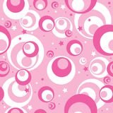 безшовное картины розовое Стоковая Фотография