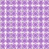 безшовное картины цветка пурпуровое Стоковая Фотография