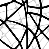 Безшовное объемное прозрачная предпосылка линий Стоковое Изображение