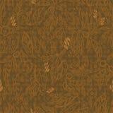 безшовное предпосылки коричневое флористическое Стоковое Фото