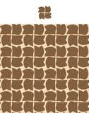 безшовное предпосылки коричневое Стоковые Фото