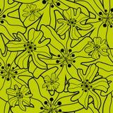 безшовное предпосылки флористическое Стоковые Изображения