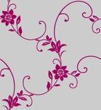 безшовное предпосылки флористическое Стоковое Изображение