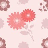 безшовное предпосылки флористическое Стоковые Изображения RF