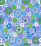 безшовное предпосылки флористическое Стоковое Изображение RF
