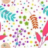 безшовное предпосылки цветастое Стоковая Фотография