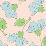 безшовное предпосылки флористическое Стоковая Фотография RF