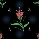 безшовное предпосылки флористическое Стоковое Фото
